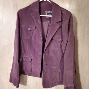Sonoma burgundy jacket